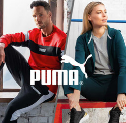 时尚运动品牌 Puma男女儿童 鞋履+服饰 内有健身专场!