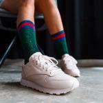 小粉鞋有点可爱!Reebok Classics Damen Classic IL Sneakers女士休闲鞋
