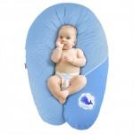 Sei Design 可拆洗枕套 纯棉材质 多功能护理枕孕妇枕