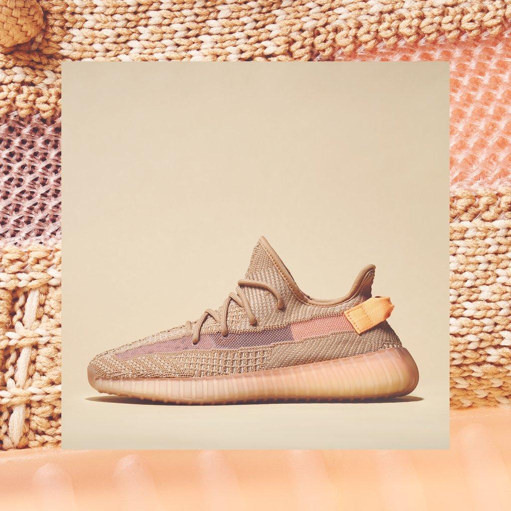预告!adidas脏粉色椰子YEEZY BOOST 350 V2 KIDS CLAY