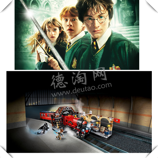 【直邮中国】20年哈迷情怀,这次你终于登上九又四分之三站台!LEGO霍格沃茨特快带你飞!