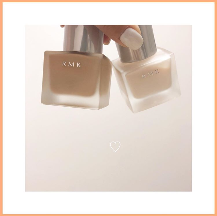 【直邮中国】最受好评的粉底液RMK,打造清透自然裸妆感!