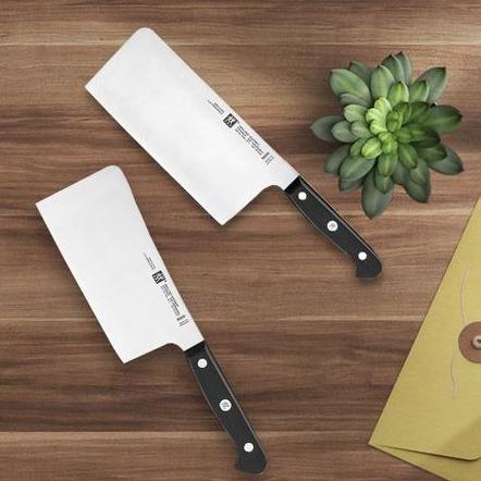 ZWILLING 双立人 Gourmet高端系列刀具两件套 中片刀/砍骨刀
