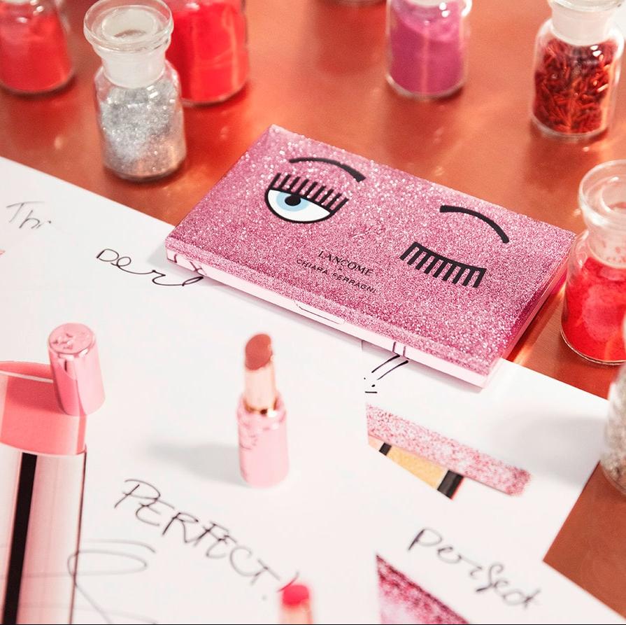 KOL界女皇 Chiara Ferragni x Lancôme 联名系列彩妆
