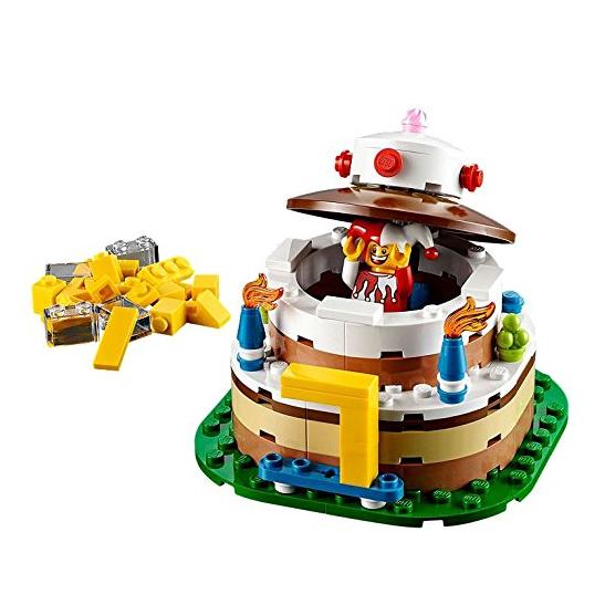 乐高迷最棒的生日礼物 Lego 40153 生日蛋糕
