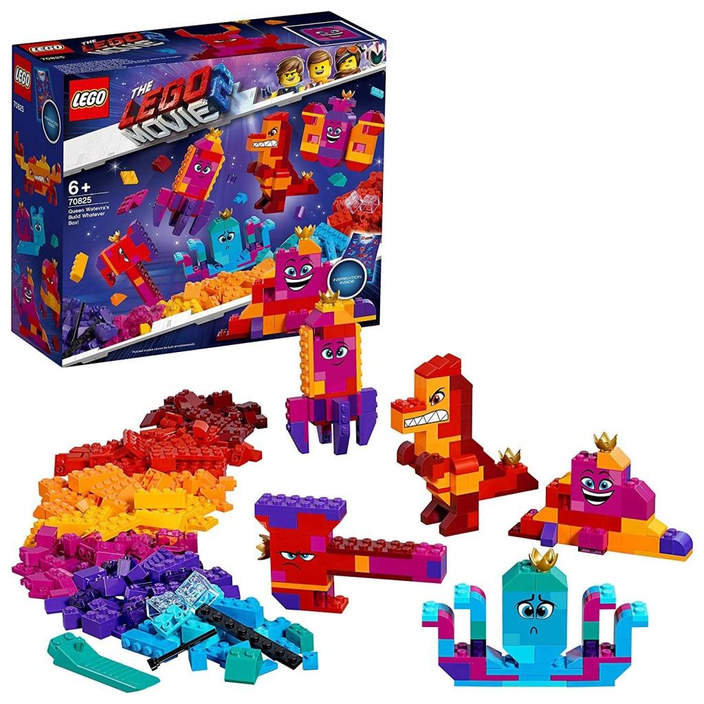 LEGO乐高大电影系列 70825 Wasimma女王的任你拼 创意散件组