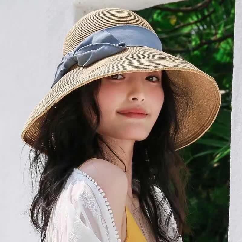 夏日凹造型,防晒要兼顾,没有一顶草帽怎么行?