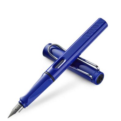 Lamy凌美safari狩猎系列宝石蓝钢笔 M尖