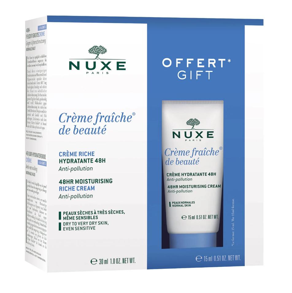 NUXE 欧树植物奶舒缓滋润乳霜/鲜奶霜