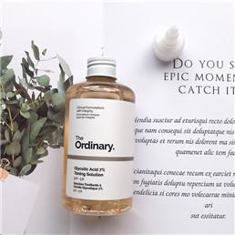 The Ordinary 甘醇酸去角质化妆水