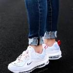 Nike Air Max 98 Premium Unité Totale 白蓝玫瑰金配色