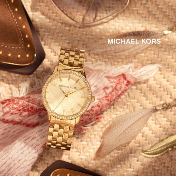 纽约风情 Michael Kors 时尚腕表+首饰