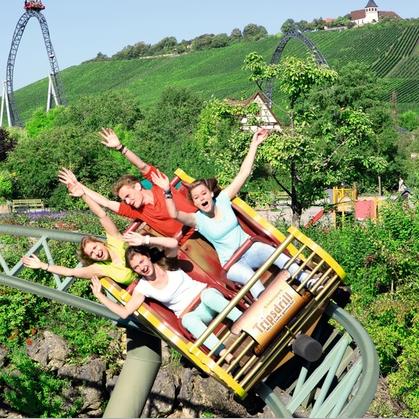 德国最好玩的游乐园TOP1 Erlebnispark Tripsdrill