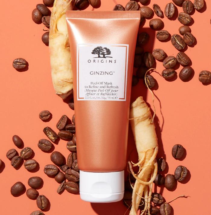 内·加速新陈代谢, 外·扫除暗沉!!ORIGINS 悦木之源咖啡因活力焕亮保湿面膜