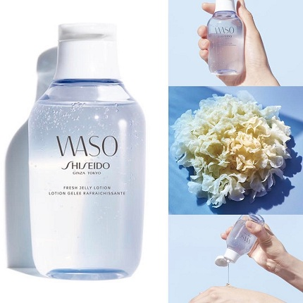 【PR家全站8折】Shiseido WASO 资生堂青春日和弹润焕肤露/银耳保湿露
