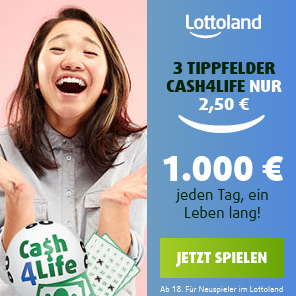 Lottoland Cash4Life德国彩票