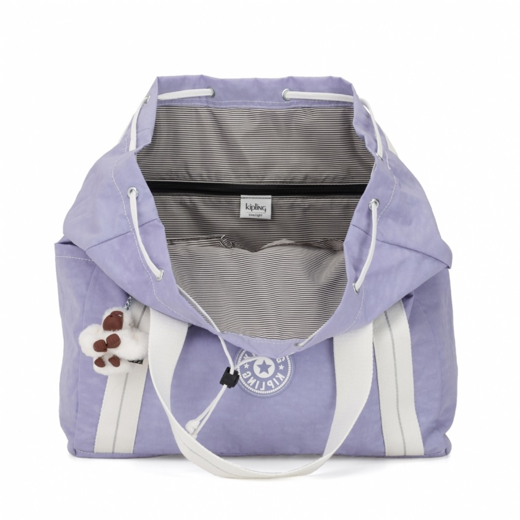 Kipling Art Backpack M号温柔紫 双肩包