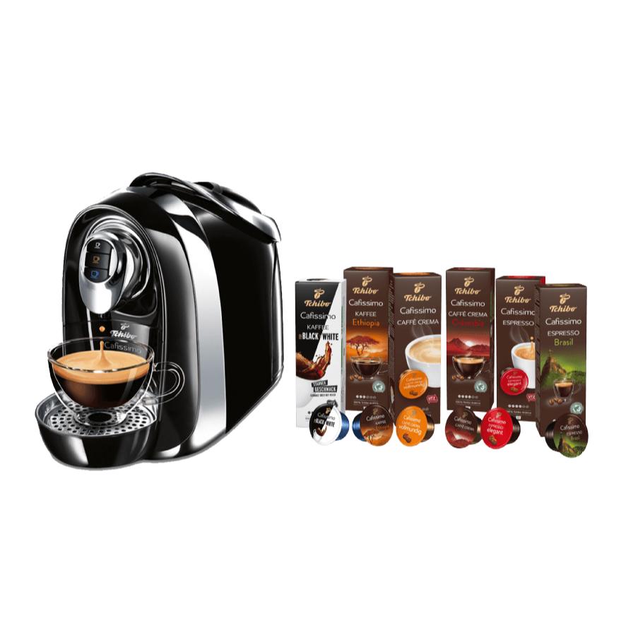 TCHIBO CAFISSIMO Compact 胶囊咖啡机+附赠60个胶囊