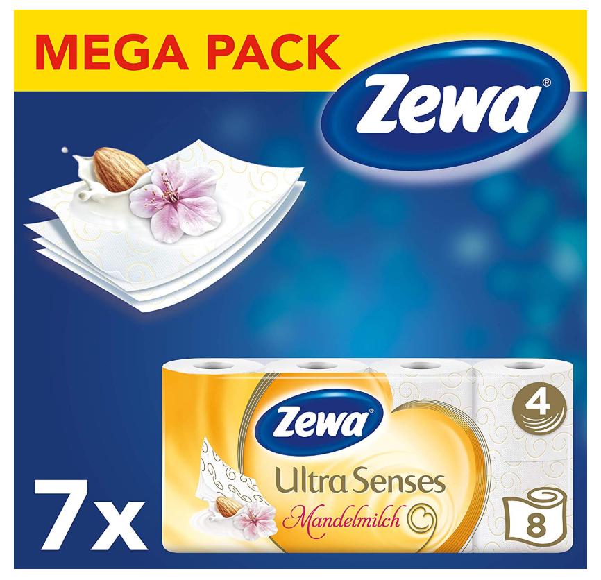 Zewa 卫生纸超值装 共7*8卷