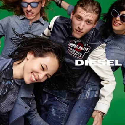 著名意大利牛仔时装品牌 Diesel 牛仔服饰专场