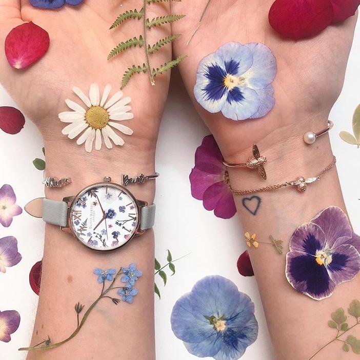装满全世界的少女心 Olivia Burton小清新腕表