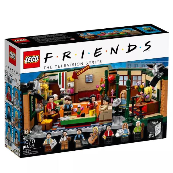 铁粉值得拥有!LEGO Ideas Central Perk 《Friends老友记》中央公园咖啡馆套装