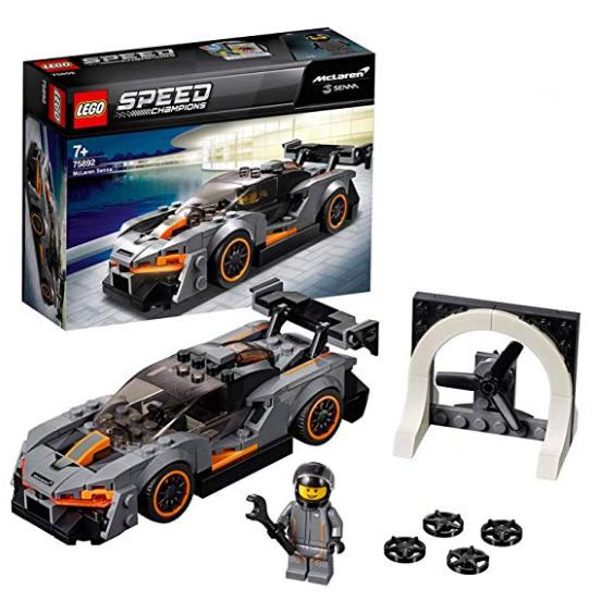 12欧圆你超跑梦!LEGO Speed Champions 75892 迈凯伦Senna
