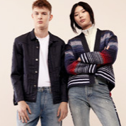 Levi's 男女式牛仔裤及多款外套卫衣
