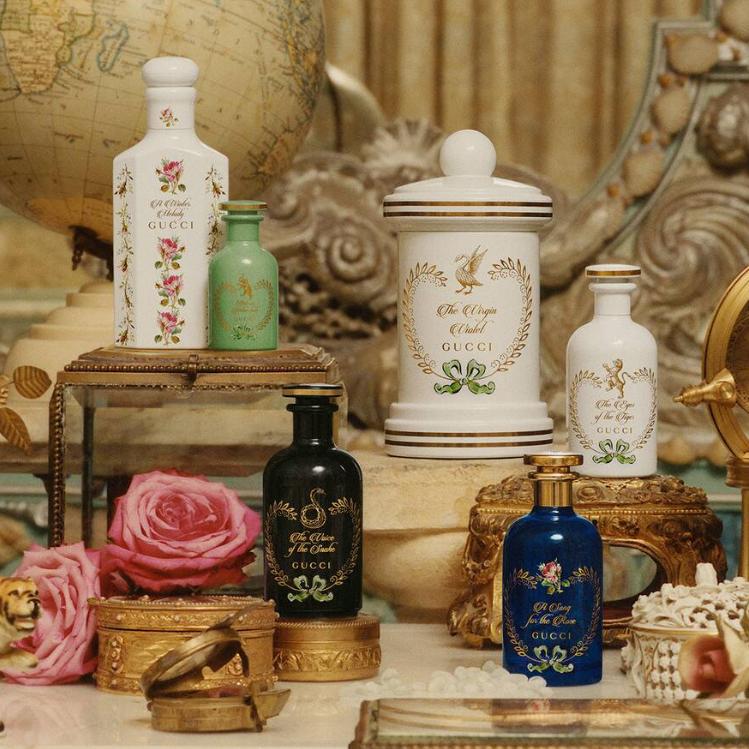 复古控!香水迷!必收的神仙香水!!Gucci 炼金术师的花园系列香水、精油、蜡烛
