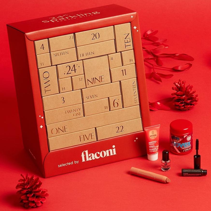 销量上千!!Flaconi 2019 Adventskalender 圣诞倒数日历