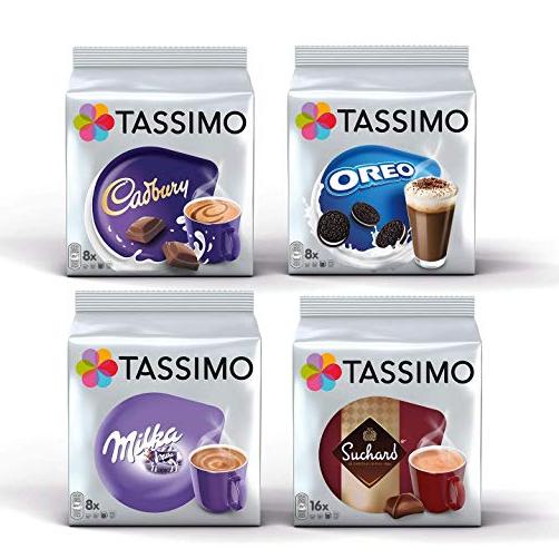Tassimo胶囊可可粉 四种口味:吉百利,奥利奥,妙卡,苏哈德共40包