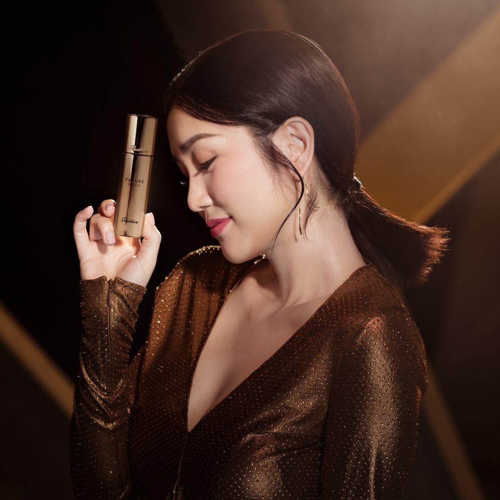 网路推爆的「最持妆」Guerlain 娇兰24K纯金光粉底液再升级,新款金钻修颜粉底液/金块粉底上市啦