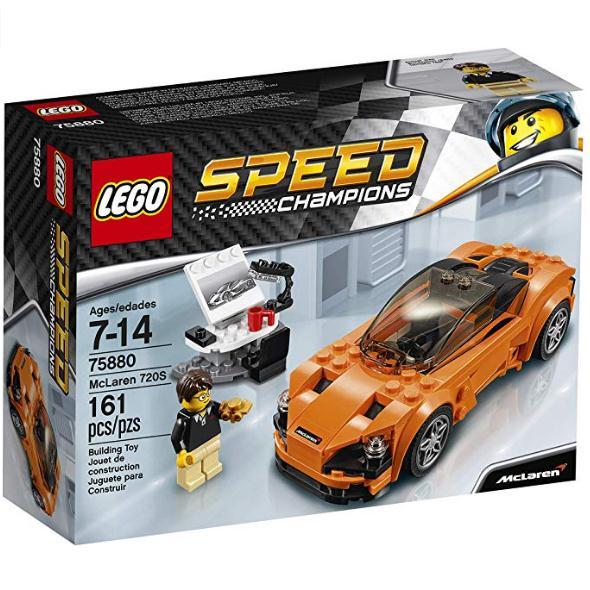 LEGO 乐高 Speed Champions 超级赛车系列 75880 迈凯轮720s