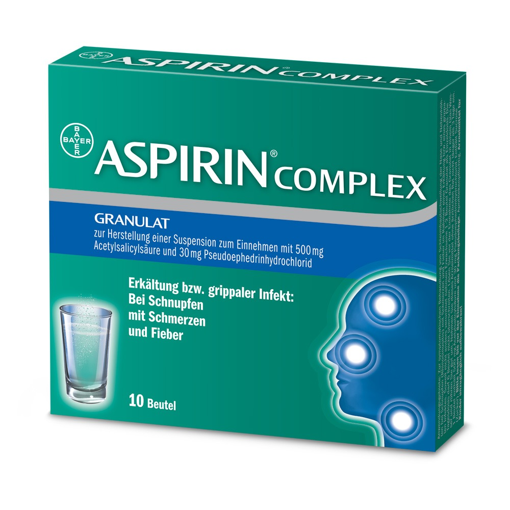 德国家庭常备药拜耳阿司匹林ASPIRIN® COMPLEX
