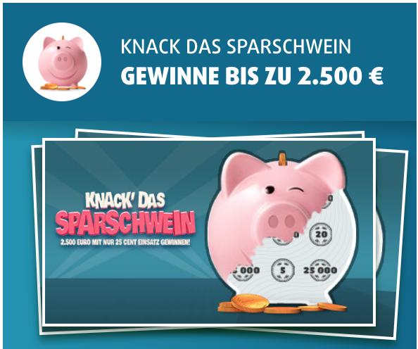 Lottoland猪猪刮刮乐25次只要0.99欧