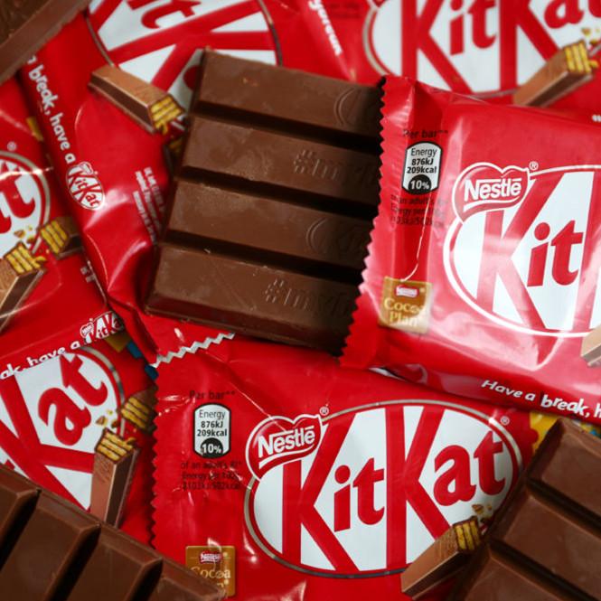 Nestlé 雀巢 奇巧Kitkat巧克力威化棒 24包装