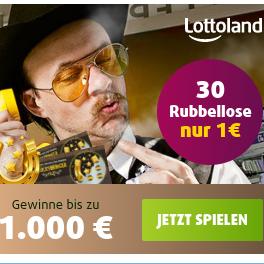 Lottoland GLÜCKSBRINGER幸运刮刮乐30次只要1欧
