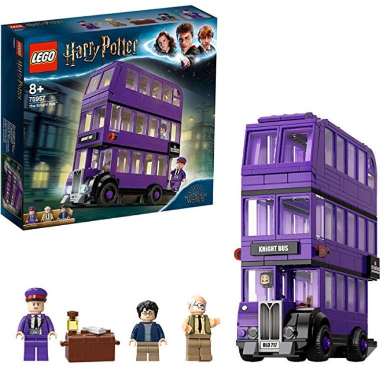 午夜上车!乐高Lego Harry Potter系列 骑士公共汽车