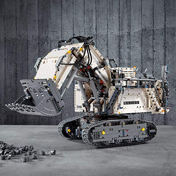 Lego乐高Technic系列 Liebherr挖掘机