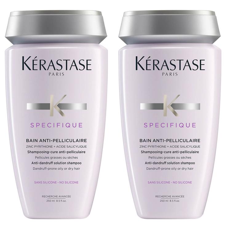 去屑控油,一瓶解决!Kérastase卡诗去屑净化洗发水 两瓶装