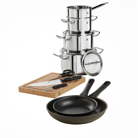 你的厨房有这一套就够了!Zwilling Starter Set 厨具10件套