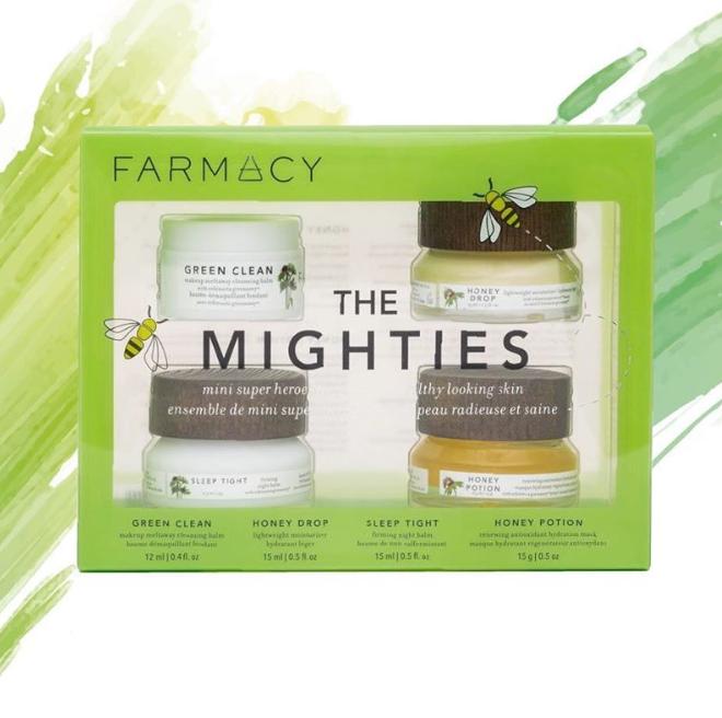 纯天然护肤品Farmacy The Mighties Kit套装+眼霜!