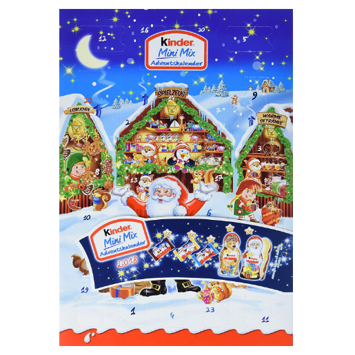Kinder Mini Mix Adventskalender 健达巧克力圣诞日历 152 g