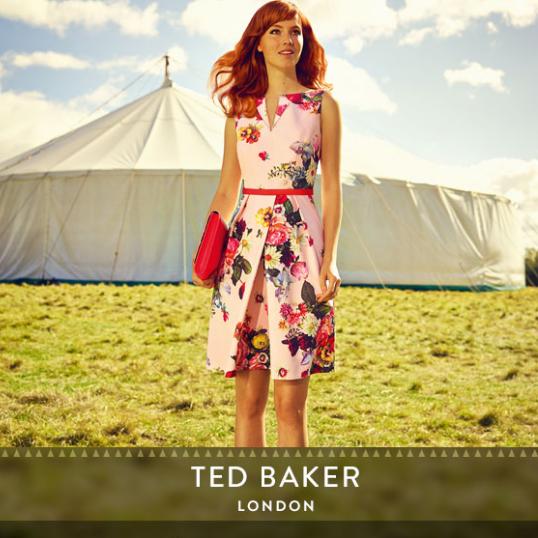 【直邮中国】来自英国的小清新田园风 Ted Baker