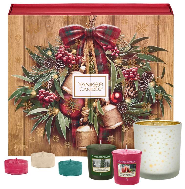 美国知名香薰品牌 Yankee Candle 圣诞倒数日历!