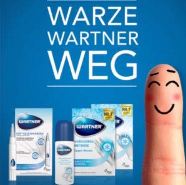 精准除疣 德国Wartner疣立消跖疣消除笔