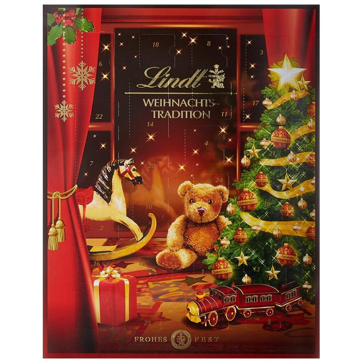 瑞士莲Lindt 圣诞传统惊喜倒数日历!