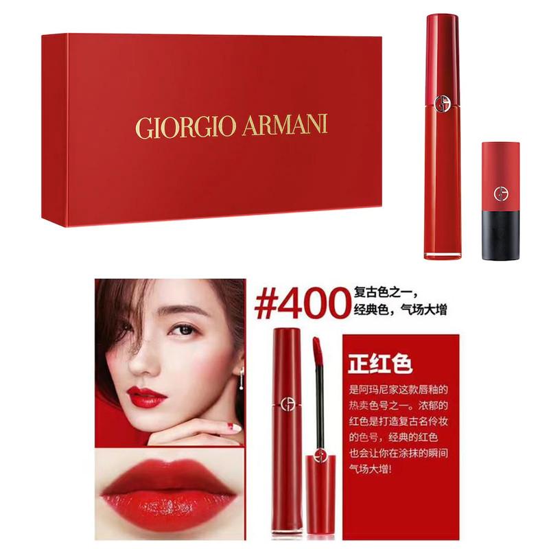 GIORGIO ARMANI The Red 阿玛尼礼服口红礼盒