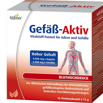 Hübner Gefäß-Aktiv 心血管系统保养补充剂