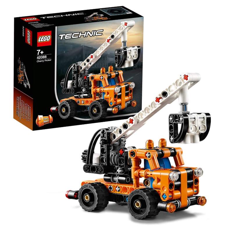 乐高LEGO 机械组42088 车载式吊车